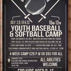 Richmond Baseball to hold Summer Camp 10-2 02/09/16/23rd July.