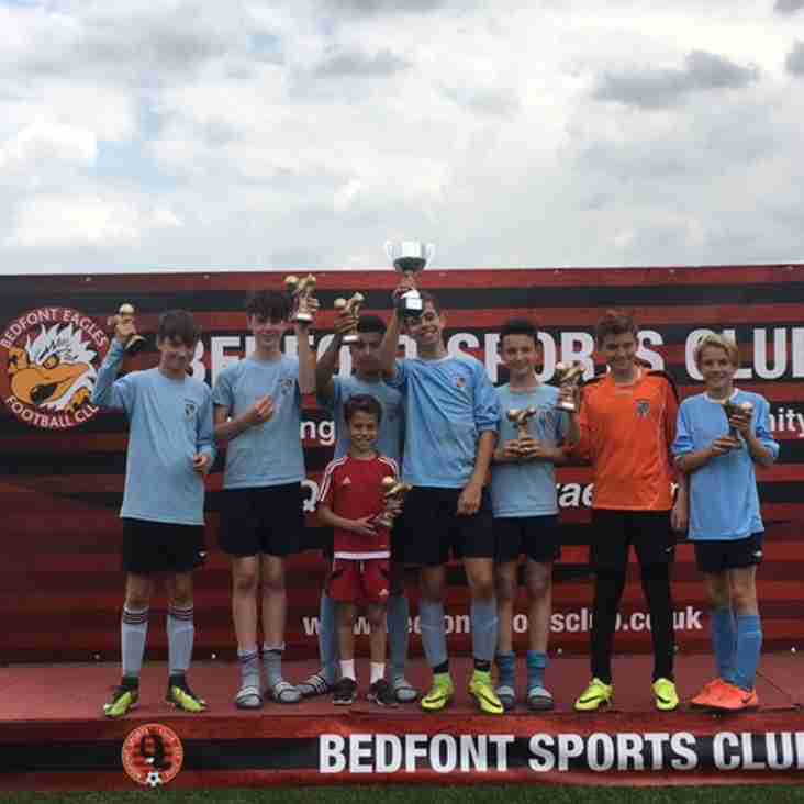 NO HOLDING KEW'S U13S BACK, ANOTHER WIN WHICH MAKES 4/5 TOURNAMENTS WON THIS SUMMER