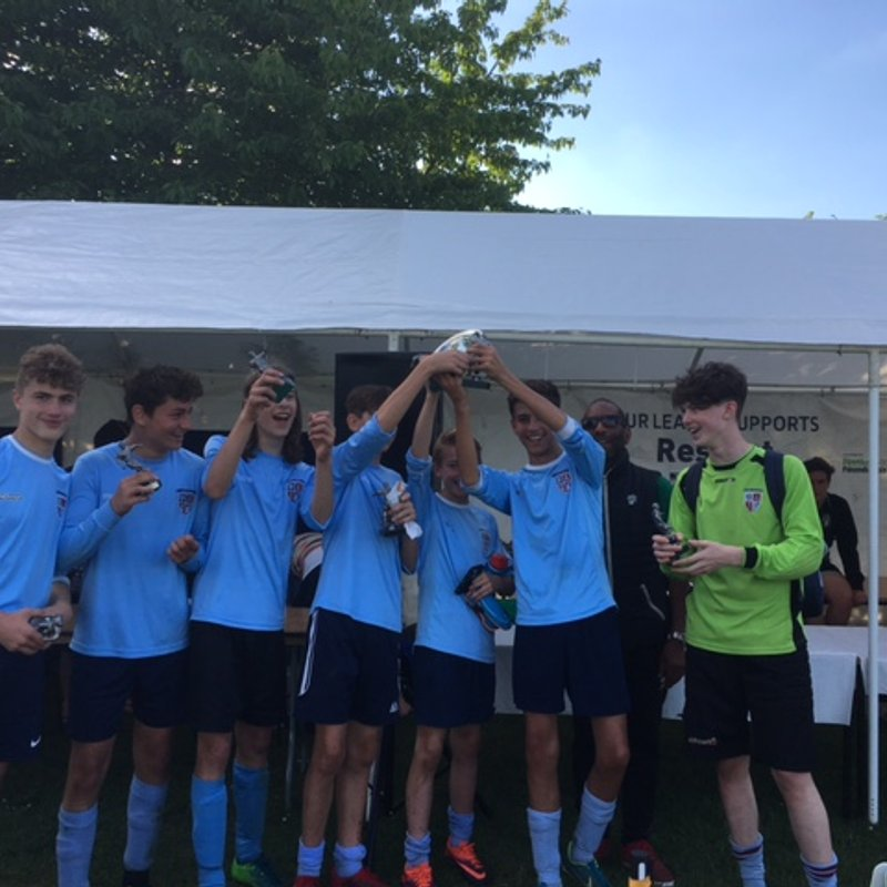 Good start for U14s(soon to be U15s) in the summer season of tournament fun!
