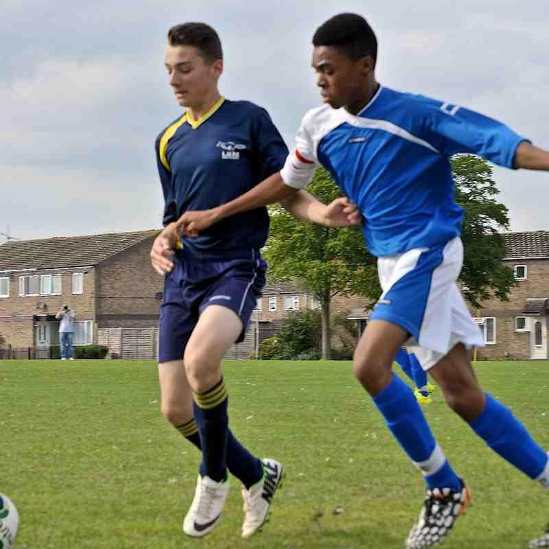 U16 Blues V Houghton Athletic 28-9-14