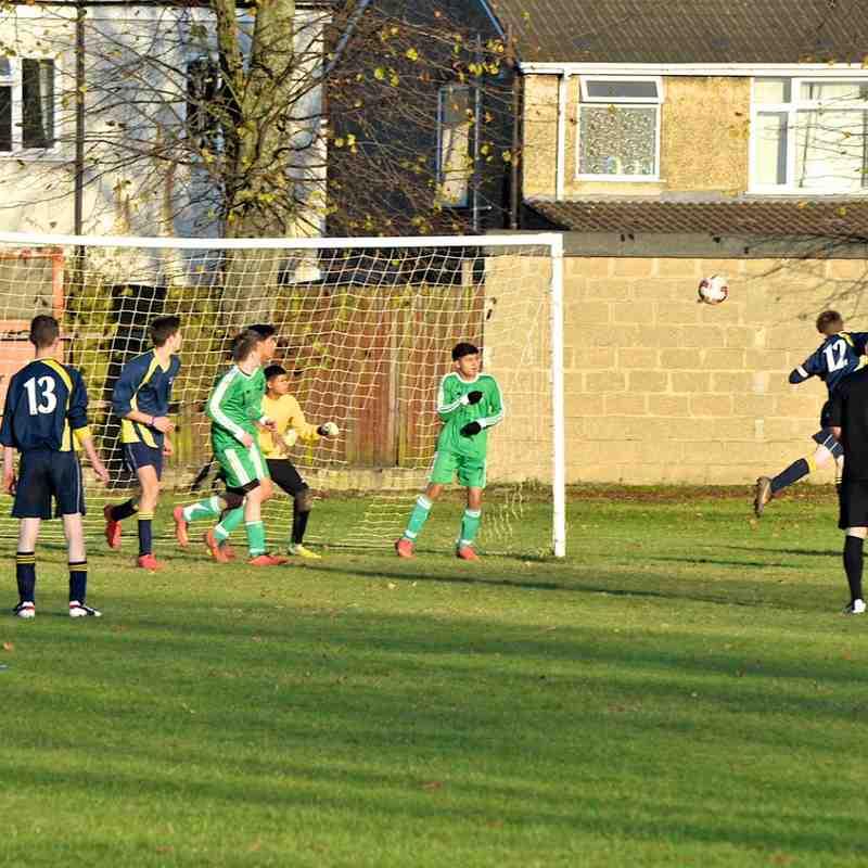 U16 Blues V Luton United 9-11-14