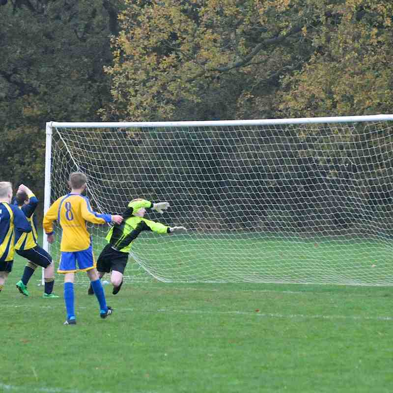 U16 Blues V Bedford Park Rangers 16-11-14
