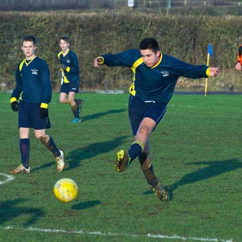 U16 Blues V AFC Luton 18-1-15