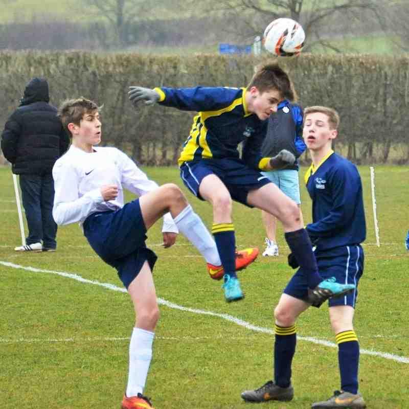 U16 Blues V Wootton Rangers 8-3-15