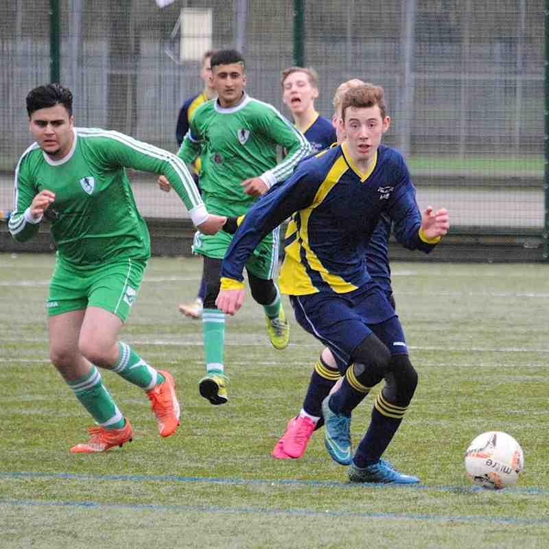 U17 Blues V Luton United 31-1-16