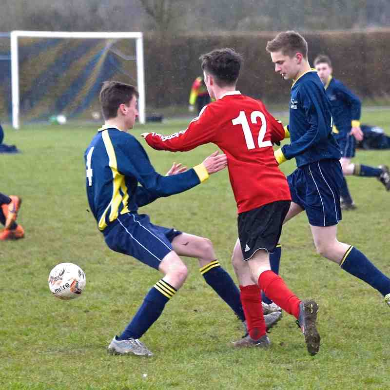 U17 Blues V Caddington Youth 3-3-16
