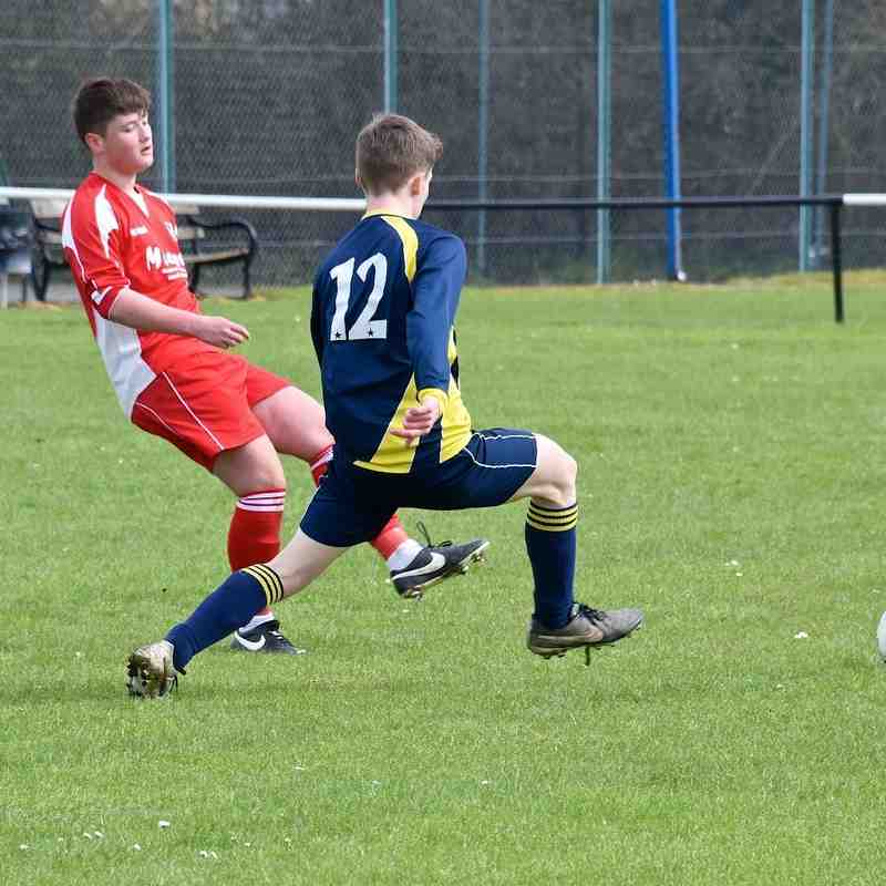 U17 Blues V AFC Shillington 10-4-16