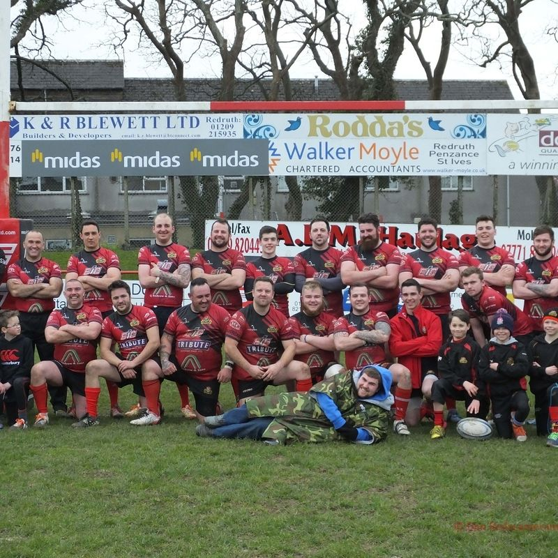 Redruth 2nd XV lose to Wadebride II 27 - 31