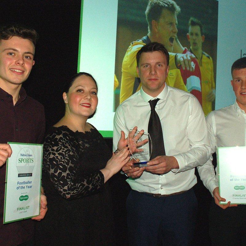 Bitmead wins 2017 Melton Times Footballer of The Year!