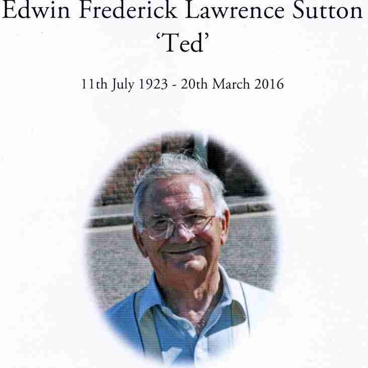 """Edwin """"Ted"""" Sutton1923-2016"""