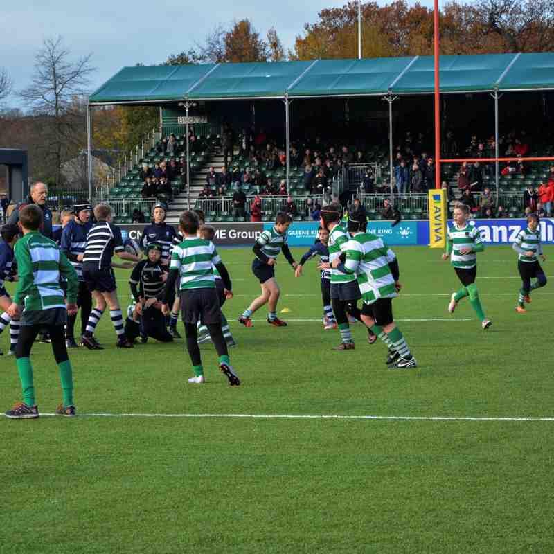 2016-11-27 U12's at Saracens RFC
