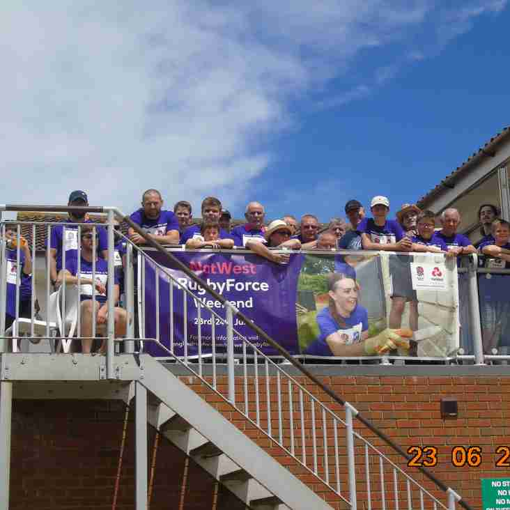 NATWEST  RugbyForce at Folkestone last Saturday