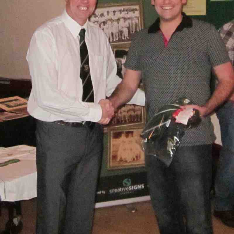 Camborne CC - Hon Life Members, Sponsors and players presentations Jan 2015