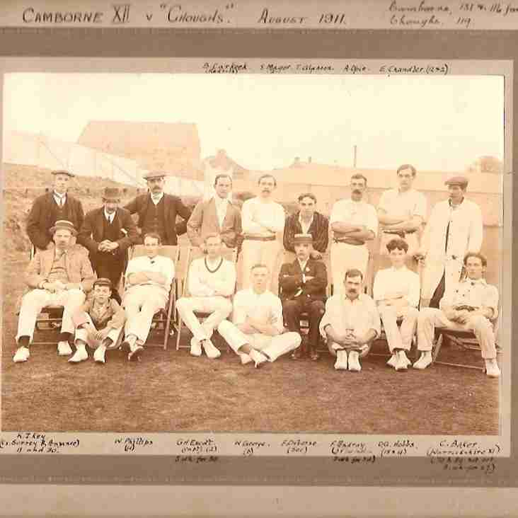 Oldest team group photo presented to the Club