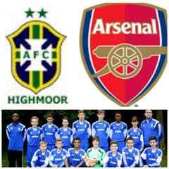 Arsenal Elite Under 14's vist Highmoor