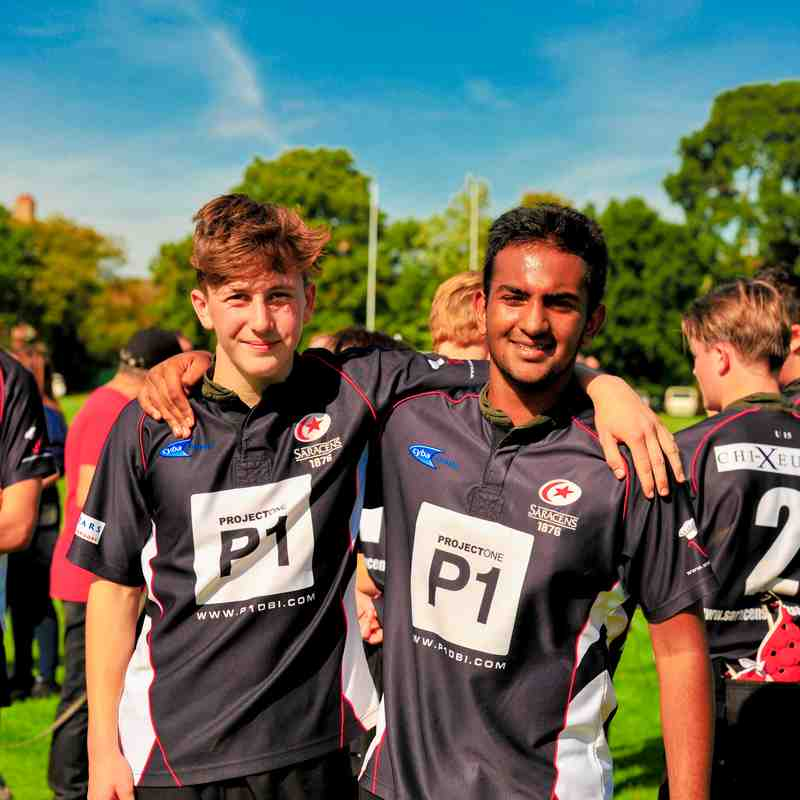 U15 Infidels v Old Grammarians 24 Sep, 2017