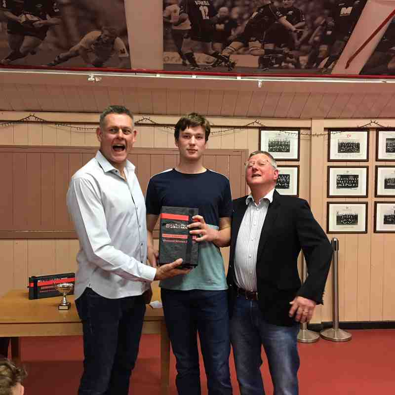 SARFC U15 2017/18 Awards
