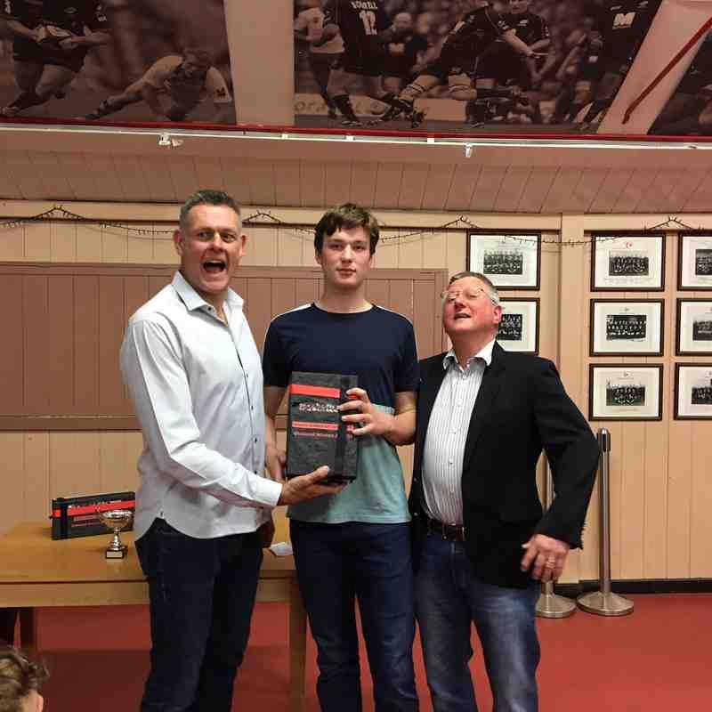 SARFC U15 2017/18 Awards