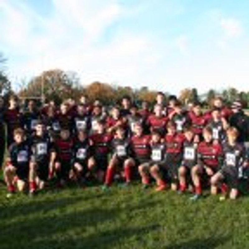 Under 16 Crusaders lose to Oxford Harlequins 29 - 5