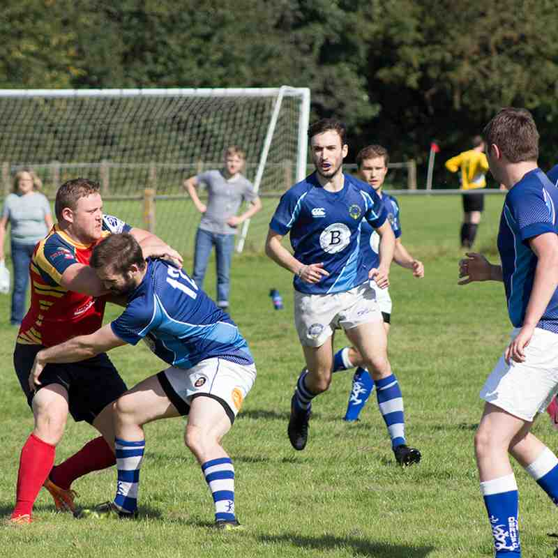 Old Bedians 1st XV vs. Bury 1st XV (02/09/2017 Opening day of the new season)