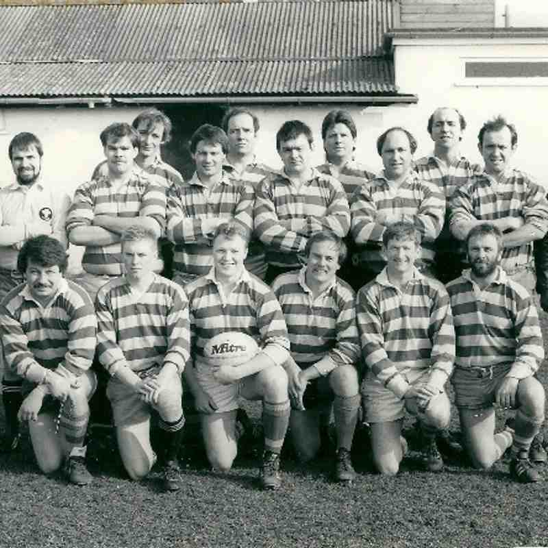 Clubs History-Deal Wanderers RFC 1st XV Squad Photos