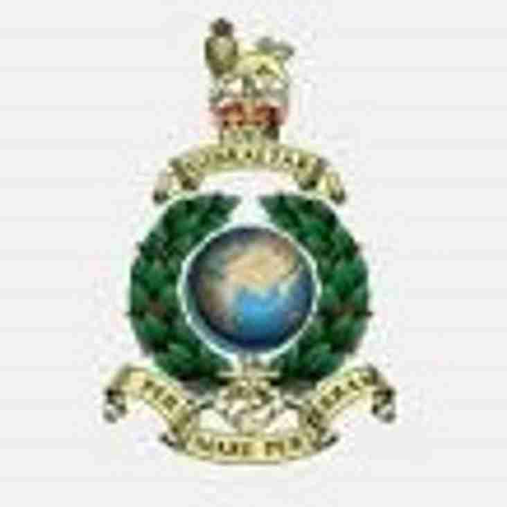 Sunday 25th September - Royal Marines Band Service Memorial Rugby Match