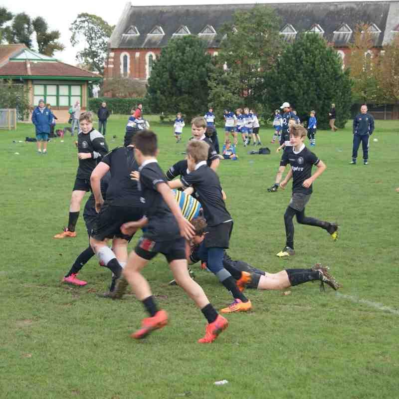 Under 12's v Thanet/Whitstable - 25th October 2015