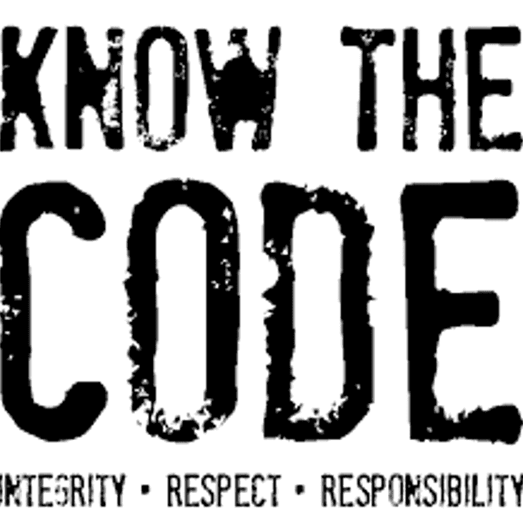 Code of Conduct - Respect for Referees.