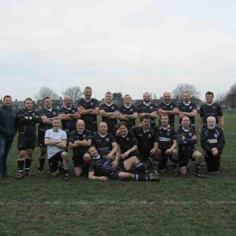 The Lions Vets vs Sheppey Vets_ Sunday 8th Jan 2017