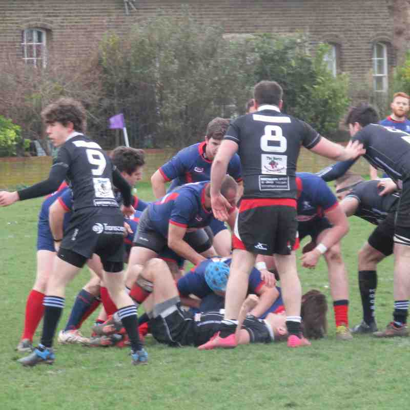 D&B RFC 2nd XV vs Aylesford II's