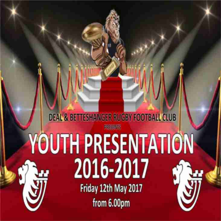2016/17 Youth Presentation - Tickets go On Sale this Sunday