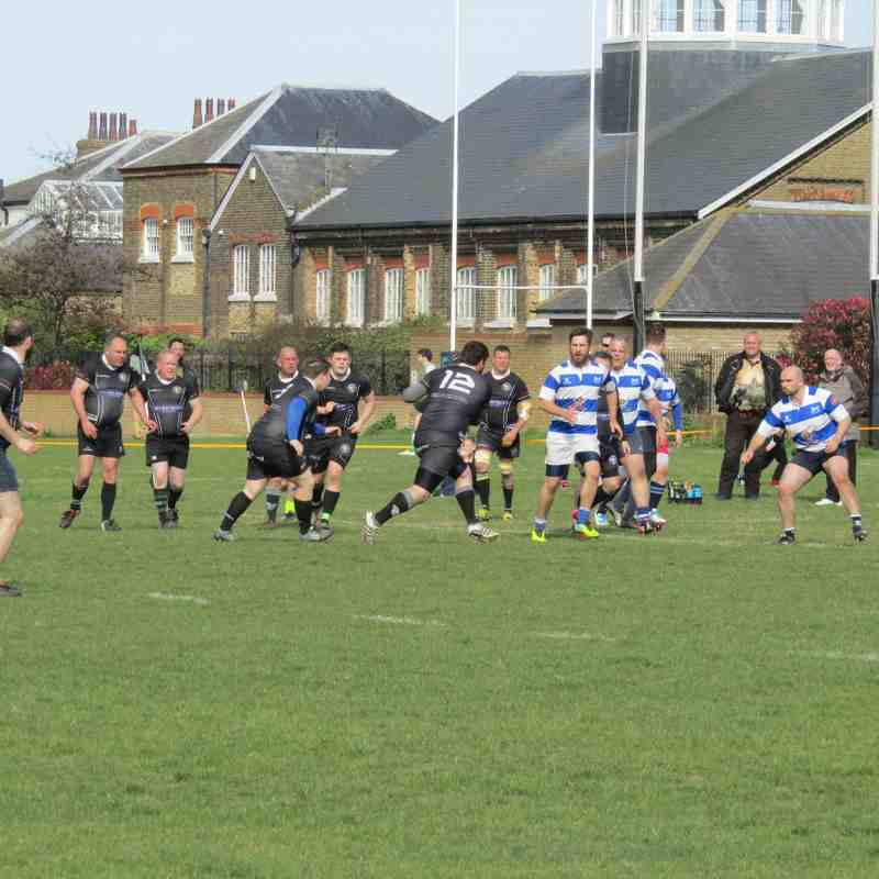 3rd XV vs Hastings & Bexhill III - 1/04/2017