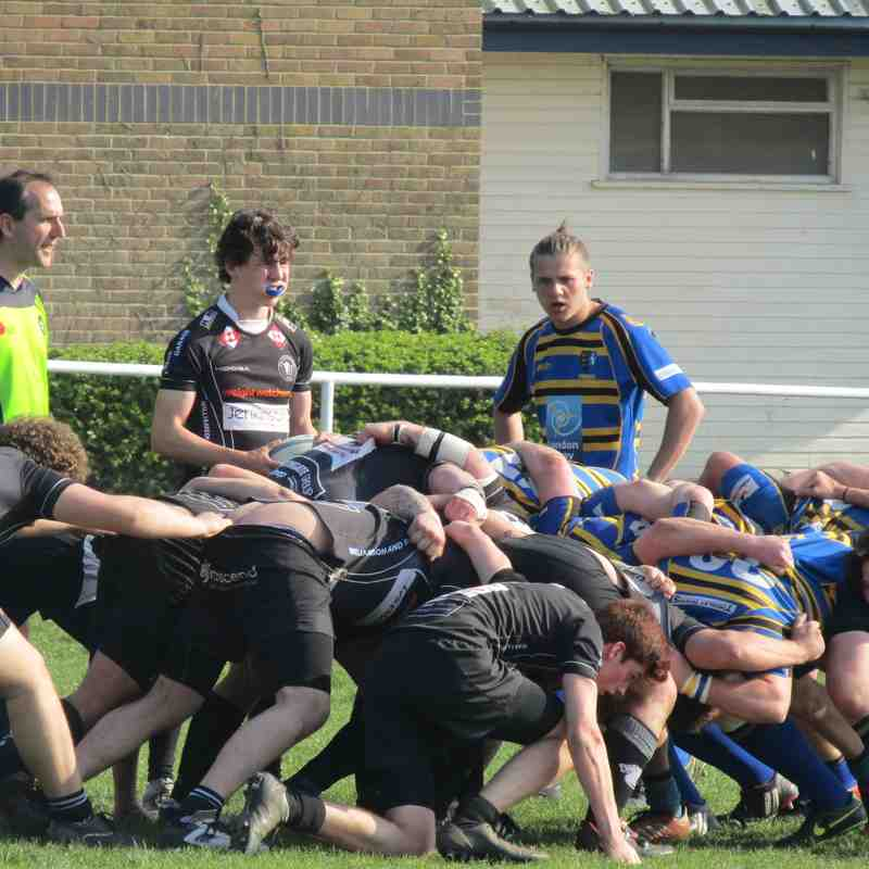 2nd XV vs Thanet Wanderers II - 8/04/2017