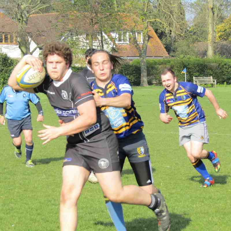 3rd XV vs Thanet - Saturday 8/4/2017