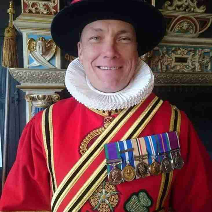 D&B RFC Member becomes a Queens Bodyguard
