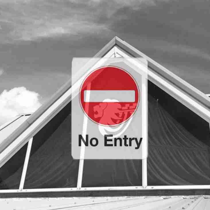 Notice-Clubhouse Closure in June