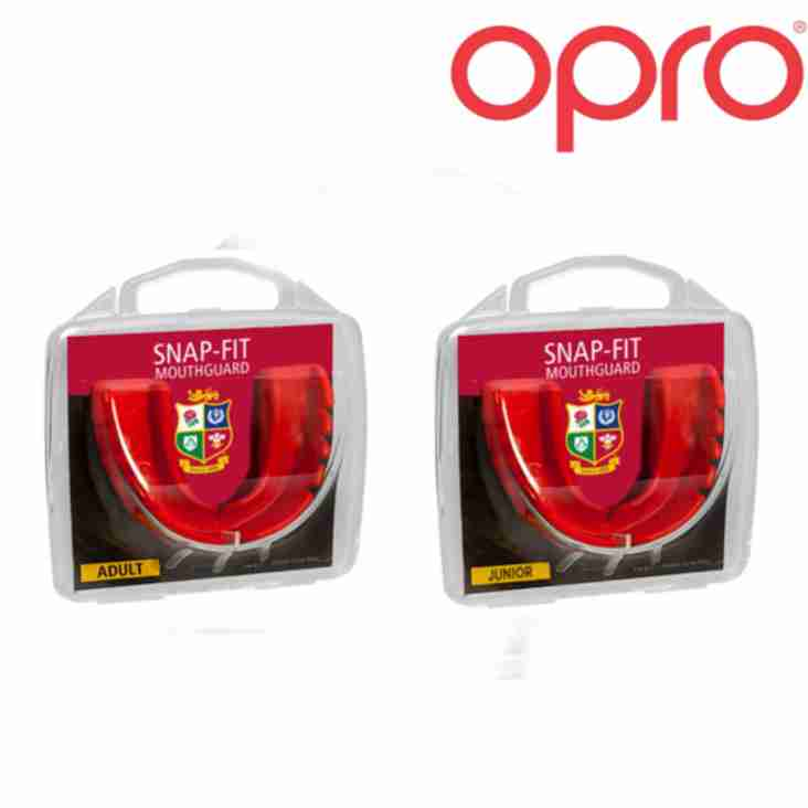 The Lions Team Up with Opro- The Mouth Guard Specialist