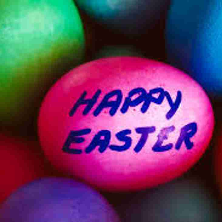 Club Notice - Sunday 1st April - Easter Sunday - Clubhouse Closed