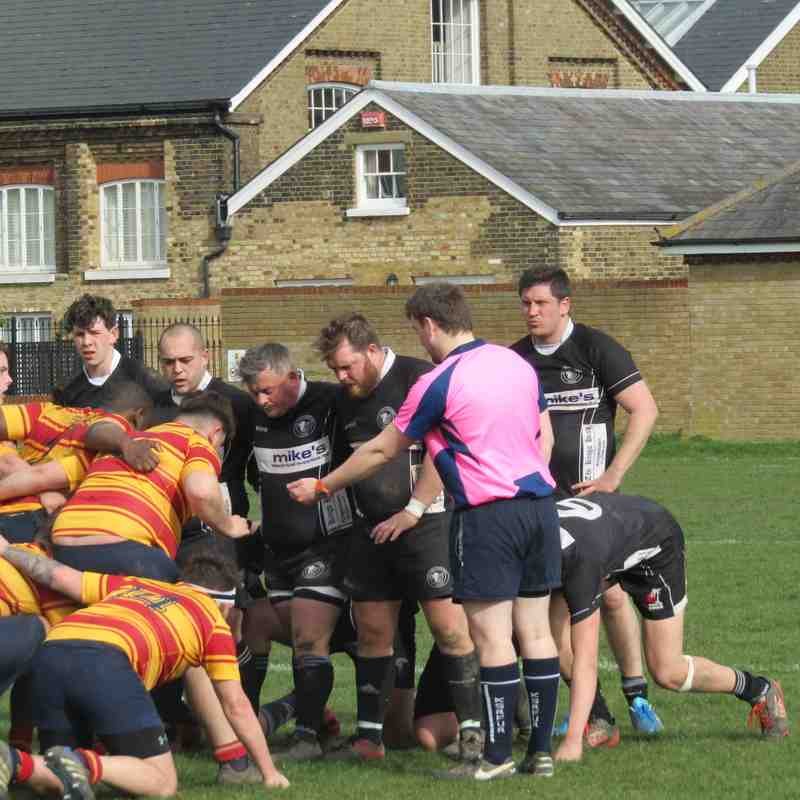 Saturday 7th April - 2nd XV vs Medway