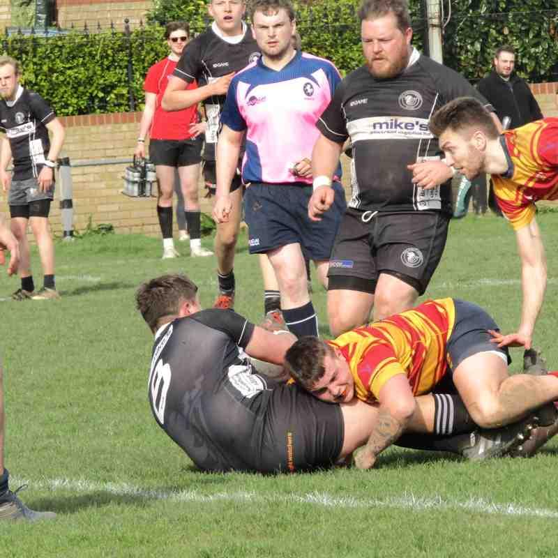 2nd XV vs Medway 3rd XV - 07/04/18