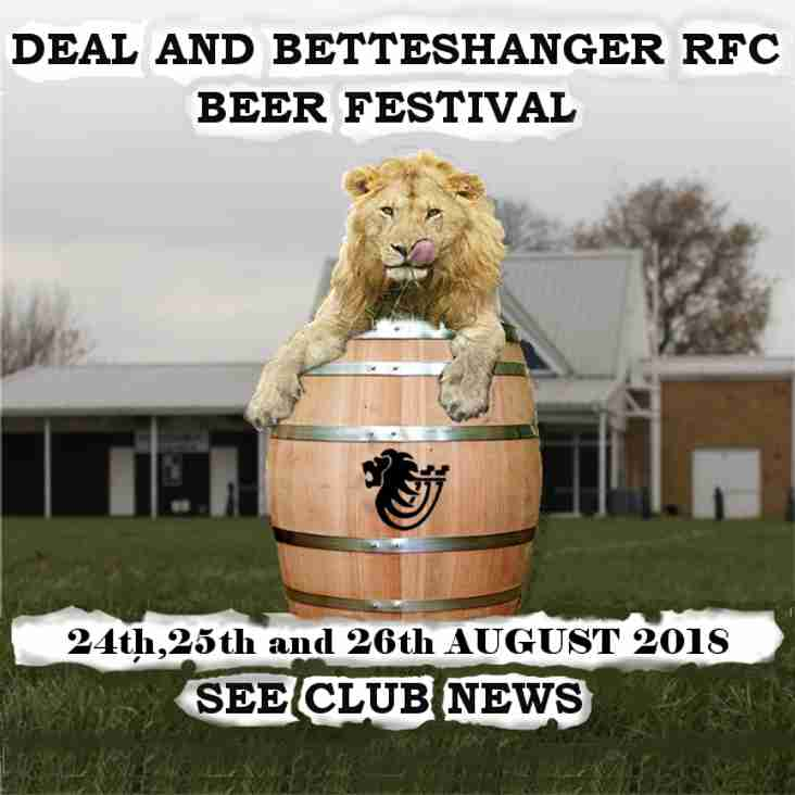 D&B RFC 2018 Annual Beer Festival