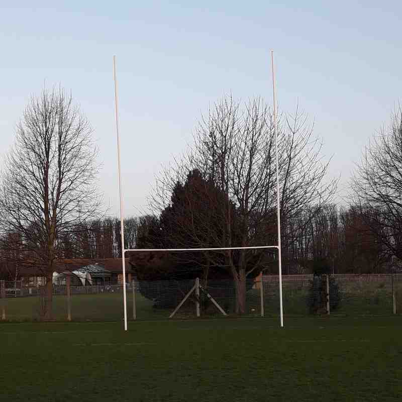 "MirroFilm ""Cloaking"" Technology For Rugby Posts"