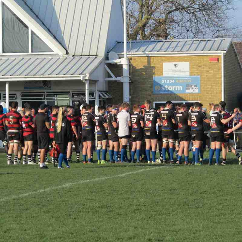Saturday 30th March - 1st XV vs Gravesend
