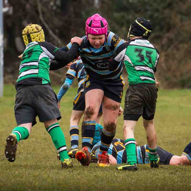 U10s vs Caerphilly Feb 15th 2015