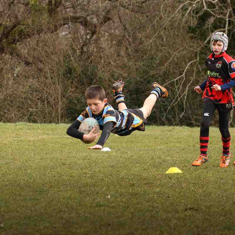 U10s V Bridgend Sports & Rhymney  March 1st 2015