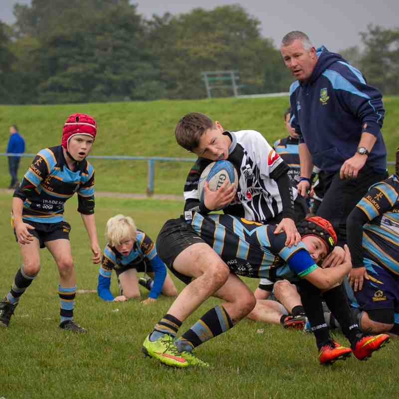 U11s Dominant Vs Pontypridd October 4th 2015