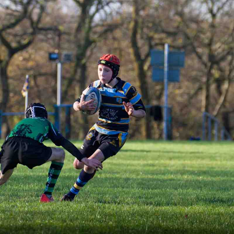 U11s Vs Llantrisant November 22nd 2015