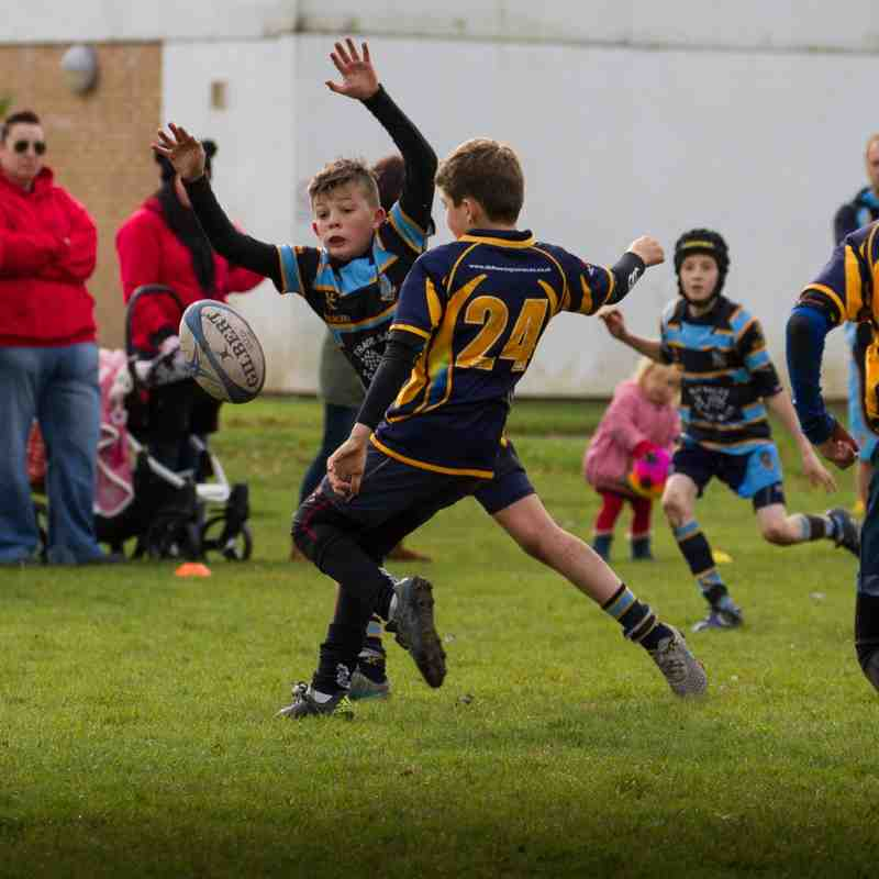U11s Vs Aberdare October  25th 2015