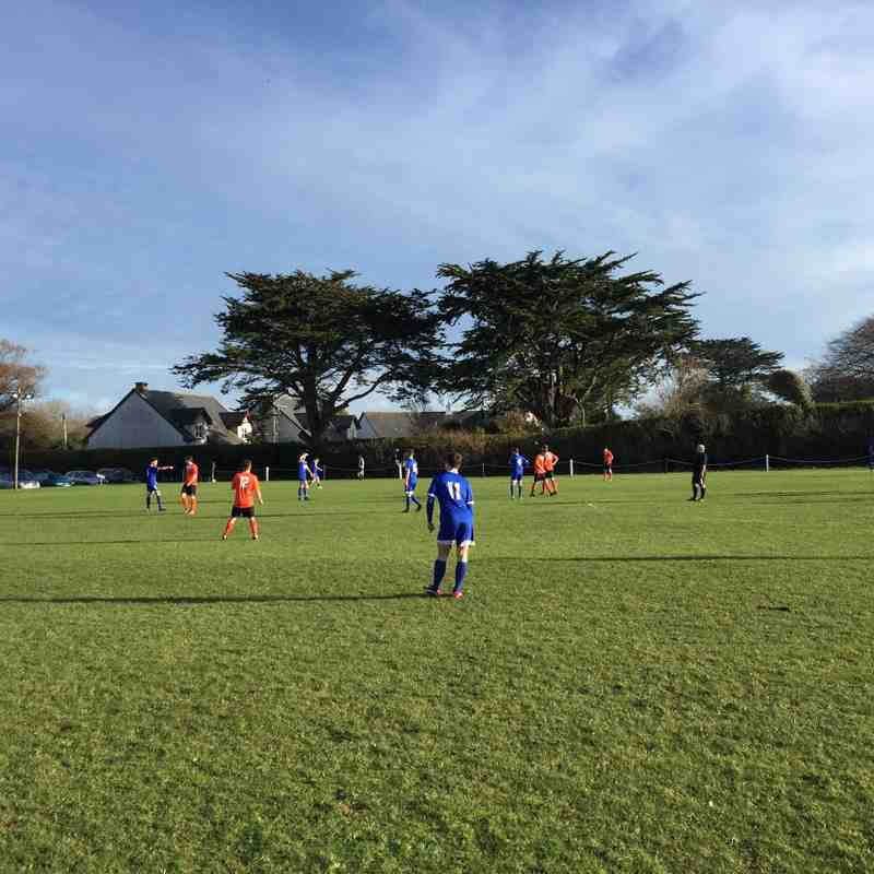 St Minver 1sts v AFC Bodmin - 16th January 2016