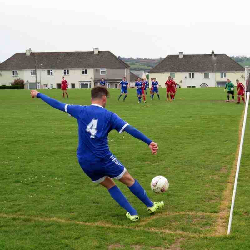 St Minver 1sts v Saltash United - 7th May 2016